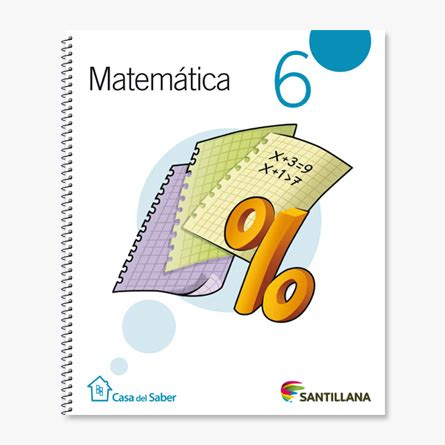 libro santillana de matematicas 6 2016 sexto grado santillana