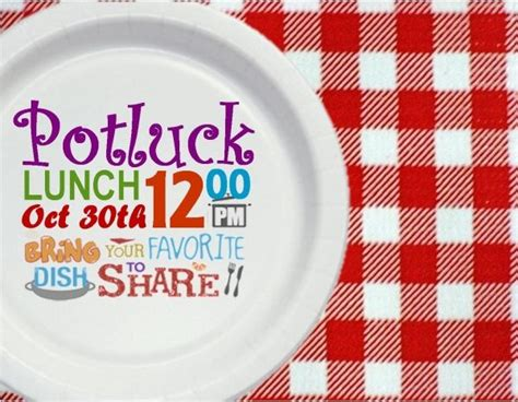 Potluck Invitation Templates Free Potluck Lunch Invitation Free For Your Party Get This Potluck Invitation Template