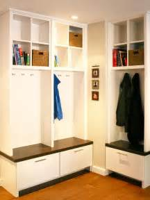 diy corner mudroom locker studio design gallery