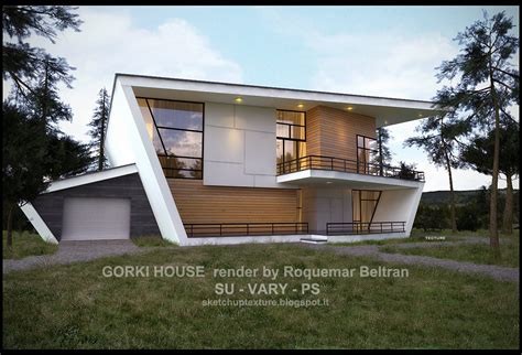 house 3d model free download download 3d model gorki house sketchup by roquemar