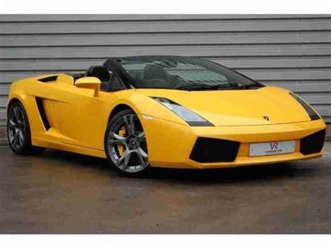 V10 Lamborghini Lamborghini Gallardo V10 Spyder Lifting Gear Petrol