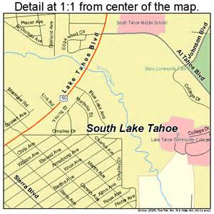 map lake tahoe california south lake tahoe california map 0673108