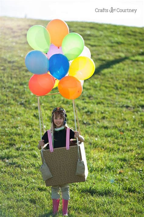 hot air balloon costume  halloween
