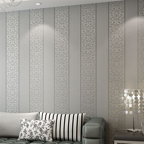 vertical wallpaper for walls beibehang europe simple vertical stripes wall papers home