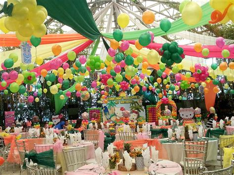 themes kiddie party the purr fect hello kitty party glass garden events venue