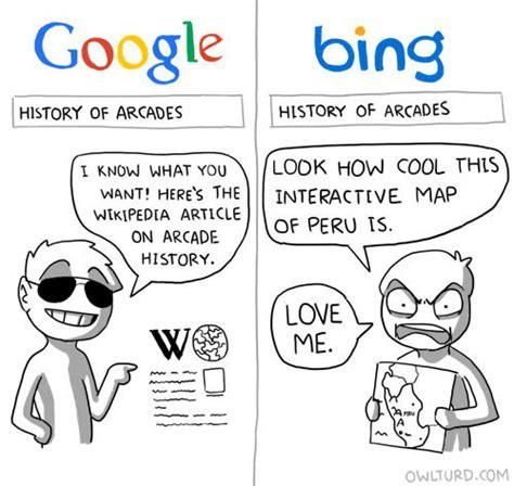 Is Google A Boy Or A Girl Meme - google vs bing weknowmemes