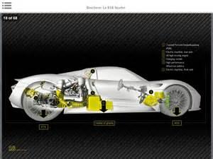 Porsche 918 Horsepower Porscheboost Porsche 918 Spyder Brochure Leaked