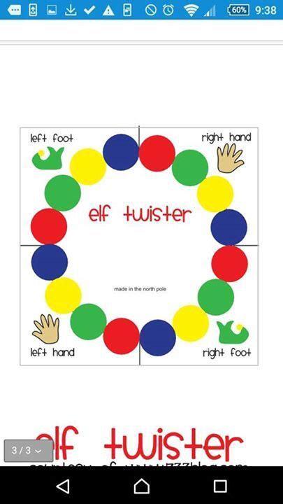 printable elf on the shelf twister elf twister kens favs pinterest elves