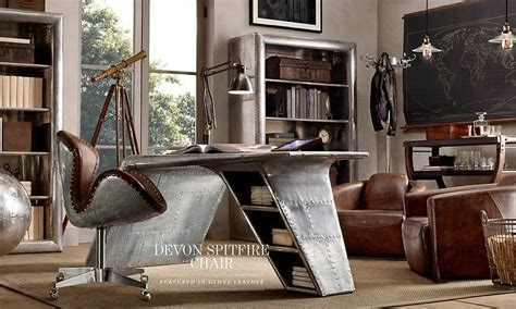 home office restoration hardware the study