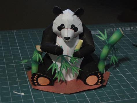 Paper Craft Panda - panda papercraft by bslirabsl on deviantart