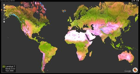 global map earth mapping a decade of change in the earth s forests earthzine
