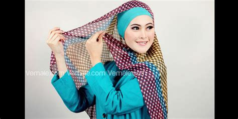 tutorial hijab paris ala jenahara hijab blog tutorial jilbab paris motif kotak kotak