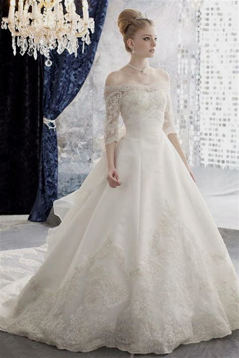 Bridal Gowns With Sleeves by Wedding Dresses With Sleeves Naf Dresses