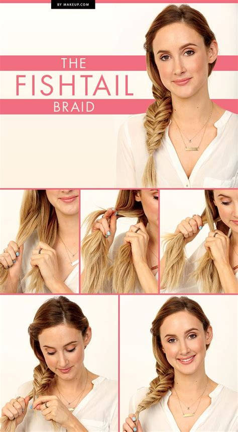 hairstyles fishtail how to do it how to do a fishtail braid step by step style arena