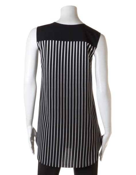 Ferista Stripes Tunic Blouse Size L stripe tunic blouse cleo