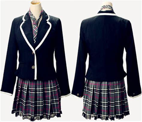 design clothes school custom school uniform design high quality international