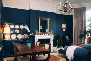 Alex's Deep Blue Living Room Makeover   AO Life   Interiors