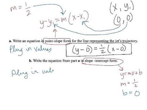 slope words point slope word problem exle 5 youtube