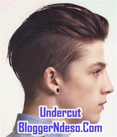 model rambut elegan pria gaya rambut