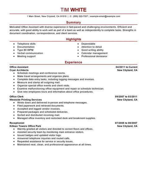 crew member resume exles management resume sles