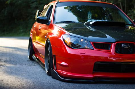 sti subaru red bagged red subaru sti japanese alliance