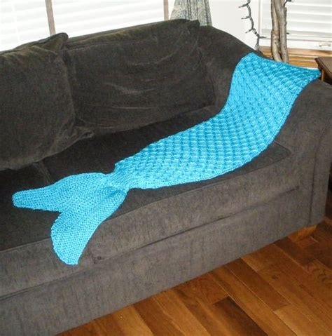 pattern for mermaid tail blanket adult mermaid tail blanket knitting pattern pdf 415a