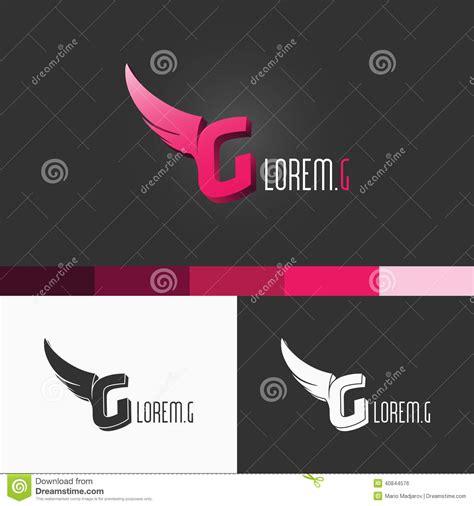 letra g logo template dise 241 o moderno del ejemplo del