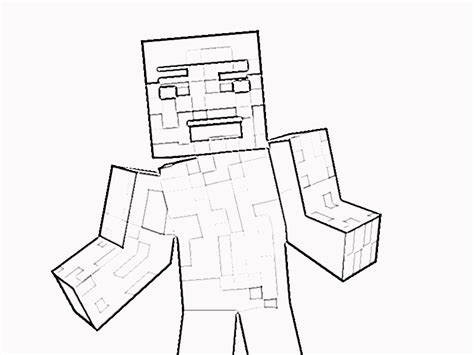 minecraft steve coloring pages printable printable minecraft steve coloring page az coloring pages