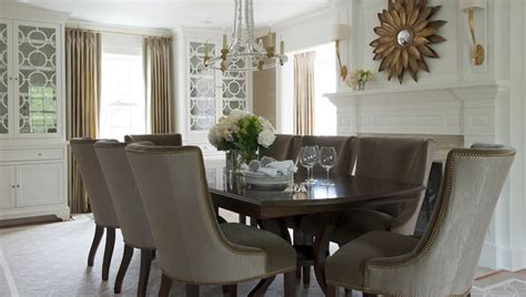 elegant dining room chairs taupe dining chairs transitional dining room morgan