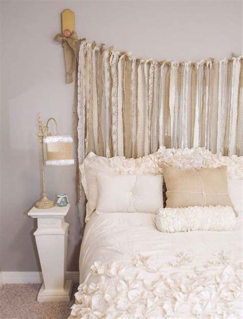 chic headboards 25 delicate shabby chic bedroom decor ideas shelterness