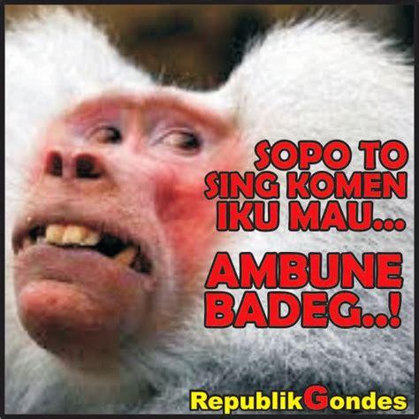 perang gambar boso jowo koplak humor lucu kocak gokil terbaru ala indonesia
