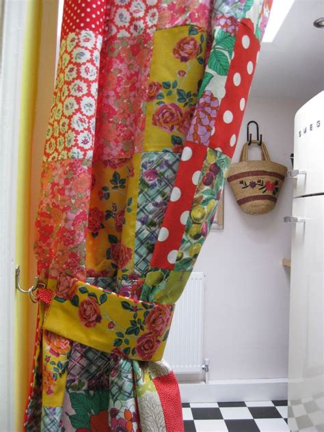 Vintage Patchwork Curtains - best 25 patchwork curtains ideas on quilted
