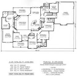 5 Bedroom 4 Bathroom House Plans by 1000 Ideas About Four Bedroom House Plans On Pinterest