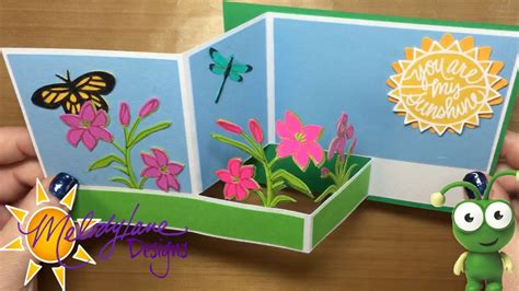 Cricut Pop Up Card Template by Z Fold Pop Up Card Used Gelly Roll Pen In Cricut Explore