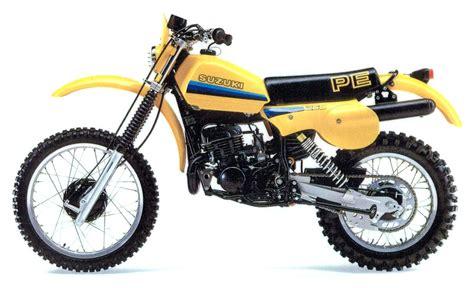 Pe 250 Suzuki Suzuki Pe250 Model History