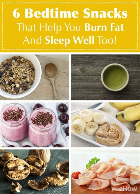 good snacks before bed 6 bedtime snacks that help you burn fat and sleep well
