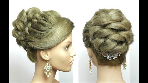 Most Beautiful And Easy Hairstyles Dailymotion   bridal prom hairstyle for long hair tutorial romantic