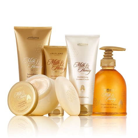 Oriflame Milk Honey Gold Moisturising Shower 31605 oriflame sweden milk and honey gold smoothing sugar scrub review