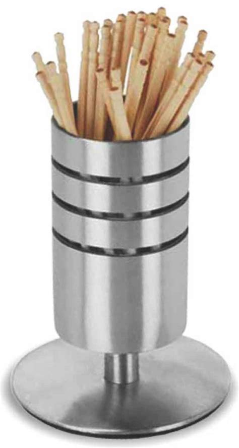 Glass Kitchen Canisters Sets by Toothpick Holders Tooth Pick Holders Stainless Steel Holders