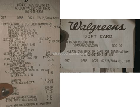 Walgreens Reloadable Gift Card - walgreens business cards design available only as business card birthday card best