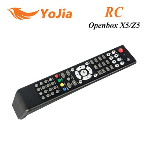 Buy 5 Gratis 5 Remote aliexpress buy 1pc remote for original openbox x5 hd satellite receiver openbox x5