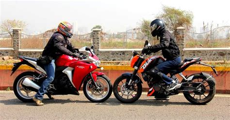 ktm vs honda youngstafun review ktm duke 200 vs honda cbr 250r