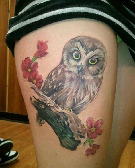 baby owl tattoo design 55 awesome owl tattoos baby owl tattoos baby owl and owl