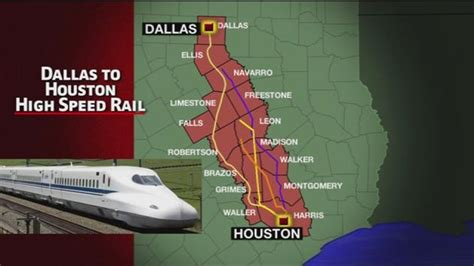 houston dallas map high speed rail projects in nextbigfuture
