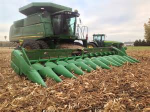 switching combine heads for different crops the farmer s