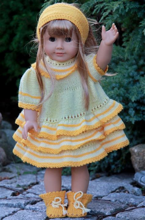 free knitting patterns for dolls clothes to dress patterns for dolls free patterns