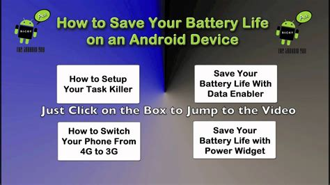 how to save battery on android how to save your battery on an android device