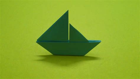How To Fold A Paper Ship - how to make a paper boat sail boat 2d