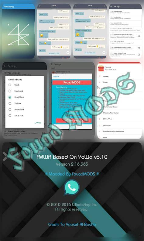 whatsapp themes simple mood android x legends fmwhatsapp fouad whatsapp v6 10 latest
