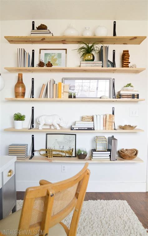 Shelves For Office Ideas S Office Reveal Industrial Shelf Brackets And Any Book